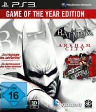 PLAYSTATION 3 BATMAN ARKHAM CITY GOTY EDITION tedesco * COME NUOVO