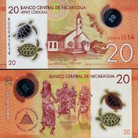 P 181 P181 UNC 10 Cordobas 1996 Banknote Note NICARAGUA