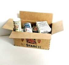 VICTORIAN  STYLE    GROCERY  DELIVERY BOXE  DOLLSHOUSE MINIATURES