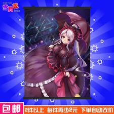 Hot Anime Overlord Otaku DIY Gift Wall Home Decor Scroll Poster 60*90cm #VG15