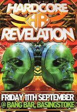 HARDCORE REVELATION 11/9 Classic Rave Flyer