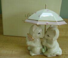 Lenox It's Raining Kitty Kisses Figurine w/Box