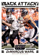 2016 Score Sack Attack Demarcus Ware NFL PWE Insert Broncos #8