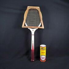 Vintage Magnan Aristocrat Wood Tennis Racquet With Vintage Wood Frame-Near Mint!