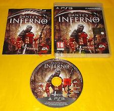 DANTE'S INFERNO Ps3 Versione Ufficiale Italiana 1ª Edizione ○○○○ COMPLETO - BT