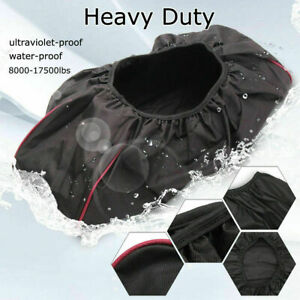 Waterproof Winch Dust Cover Bag 600D Heavy Duty Oxford Fabric Driver Recovery UK