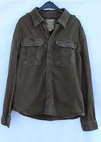 SURPUS Raw Vintage Herren Hemd Sommer Jacke Größe XXL 100% Baumwolle guter Zusta