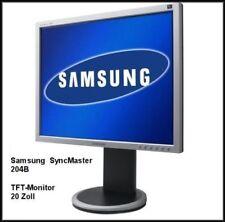 Samsung - SyncMaster 204B - 51 cm (20 Zoll) 4:3 - LCD Monitor - Silbergrau