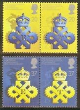 Gb Mnh Scott 1318-1321, 1990 Queen's Awards for Export and Tech, compl set of 4