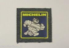 VECCHIO ADESIVO AUTO MOTO / Old Sticker OMINO MICHELIN in stoffa (cm 6,5 x 6,5)