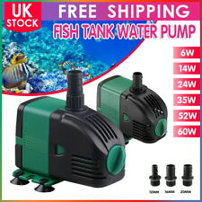 More details for water pump feature fountain outdoor garden fish pond completely submersible uk