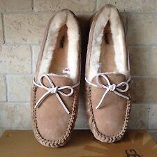 UGG Dakota Tabacco Suede Slip-on Shoe Slippers Moccasins Size US 12 Womens 5612