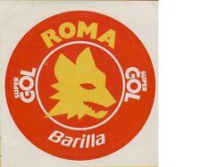 ADESIVO VINTAGE STICKERS  SUPER GOL BARILLA ROMA