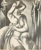 Jan Matulka : Nude : 1925 : Archival Quality Art Print