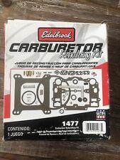 EdelBrock 1477 Master Rebuild Kit Performer Carburetor Series SBC SBF Chevy Ford