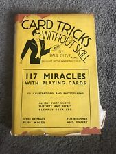 Card Tricks without Skill PAUL CLIVE Magic