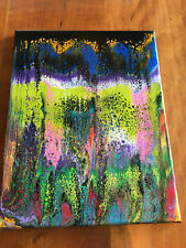 Abstract  Wall Painting--Original Signed by Artist