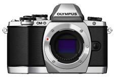 Olympus OM-D E-M10 16.1MP Digital SLR Camera - Silver (Body Only) MK i