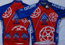 CICLISMO SPADES TEAM CYCLING JERSEY NEW LARGE FREE SHIPPING !!