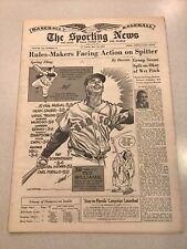 1957 Sporting News 5/15/1957
