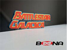 More details for decorative battlestar galactica (70's version) self standing logo display