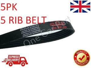 Multi Drive Belt V-Ribbed 5PK1343 For Hyundai, Lancia, Mitsubishi, Volvo