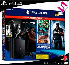 PS4 PLAYSTATION 4 PRO 1TB THE LAST OF US UNCHARTED LEGACY COLLECTION TOP VENTAS