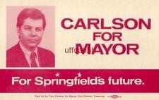 Dear Friend, CARLSON FOR MAYOR, SPRINGFIELD, MO 1987 Tom Carlson
