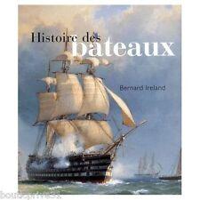 Beau Livre - Histoire des bateaux