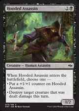 Hooded Assassin  NM X4 Fate Reforged MTG Magic Cards Black Common