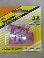 Buss Fuses ATC-3 Automotive  5 Pack NEW in package