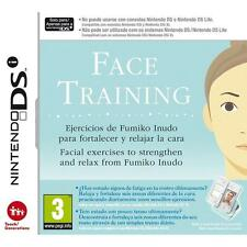 Nintendo DSi Face training.