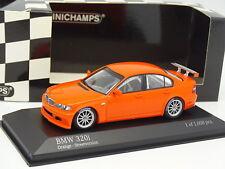Minichamps 1/43 - BMW 320 i E46 Orange Street Version