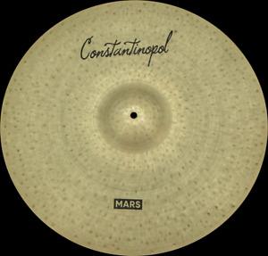 """Constantinopol MARS RIDE 21"""" EXTRA THIN - B20 Bronze - Handmade Turkish Cymbals"""