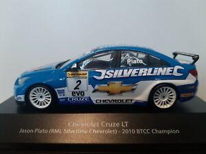 Miniature Atlas 1/43,  Chevrolet Cruze LT ,  btcc champion 2010
