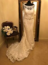 Casablanca Wedding Dress Style 2146 Ivory Size 16 New