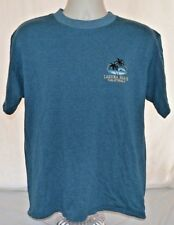 VTG 80s Wave Palm Tree T-Shirt Embroidered Laguna Beach CA Mens L Made in USA