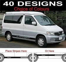 mazda bongo side stripes decals choice of design