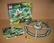 7065 LEGO Alien Conquest Alien Mothership 100% w box Instructions EX COND 2011