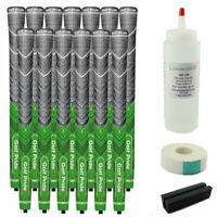 13 Golf Pride New Decade Multi-Compound MCC Plus4 Green Standard Grip Free Kit