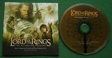 Lord Of The Rings The Return Of The King Howard Shore Annie Lennox + CD