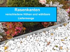 10 Meter Rasenkanten Metall 18 cm Beeteinfassung Rasenkante Rasen verzinkt