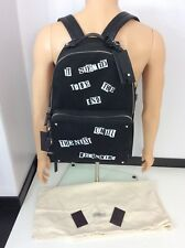 Valentino NEW Black Backpack RUCKSACK Bag Rrp £1495 Leather Straps BNWTS Dustbag