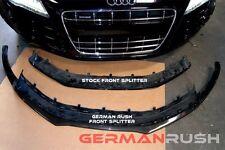 German Rush Carbon Fiber Front Splitter Audi R8 2007 - 2015