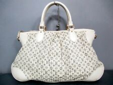 Auth LOUIS VUITTON Marina GM Croisette  Blau M95492 Ivory Navy TH3097 Handbag