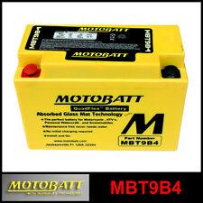 BATERÍA [MOTOBATT] MBT9B4 = YT9BBS / CT9B4 (12 V 9 SELLADO EN HABILITADO