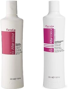 Fanola After Color Care Shampoo and Conditioner 350ml combo offer pack vitamin E