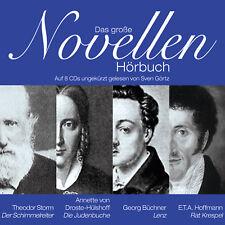 CD The Great Novellen Audiobook 8CDs/570min
