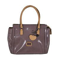 Guess Handbag Starburst Shoulder Bag Purse Taupe Brown Bb497706 Tote New