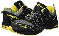 Goodyear S1P Composite Toe Safety Shoe Trainer Boot BLACK/YELLOW SIZES 7 - 12